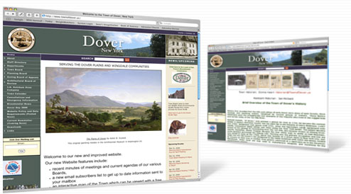Town of Dover NY web site